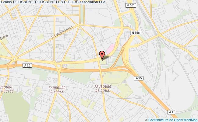 plan association Poussent, Poussent Les Fleurs Lille