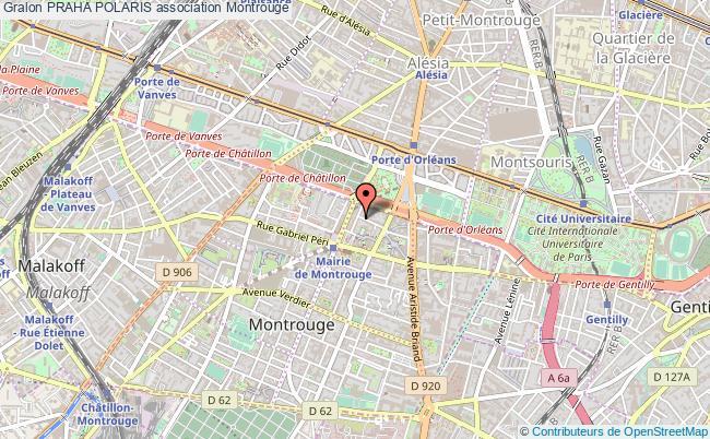 plan association Praha Polaris Montrouge