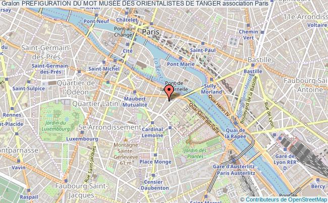 plan association Prefiguration Du Mot MusÉe Des Orientalistes De Tanger