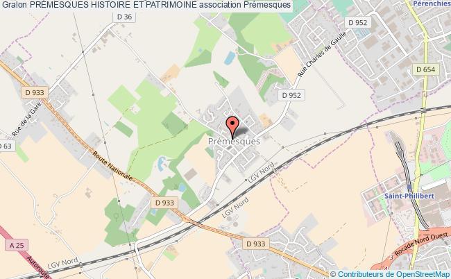 plan association PrÉmesques Histoire Et Patrimoine Prémesques