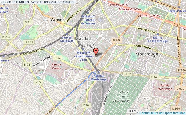 plan association PremiÈre Vague Malakoff