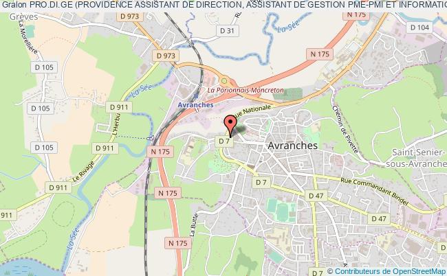 plan association Pro.di.ge (providence Assistant De Direction, Assistant De Gestion Pme-pmi Et Informatique De Gestion)