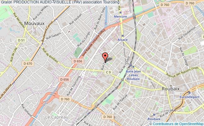 plan association Production Audio-visuelle (pav) Tourcoing