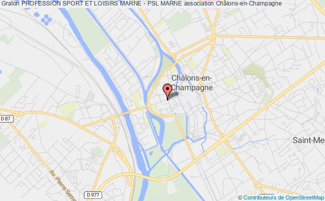 plan association Profession Sport Et Loisirs Marne - Psl Marne