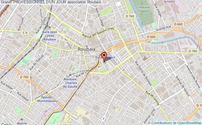 plan association Professionnel D'un Jour Roubaix