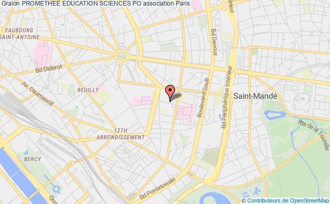 plan association Promethee Education Sciences Po Paris