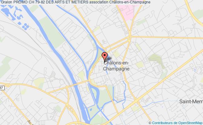 plan association Promo Ch 79-82 Des Arts Et Metiers