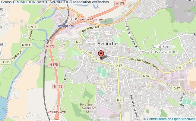 plan association Promotion Sante Avranches