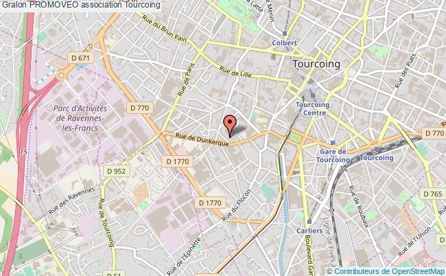 plan association Promoveo Tourcoing