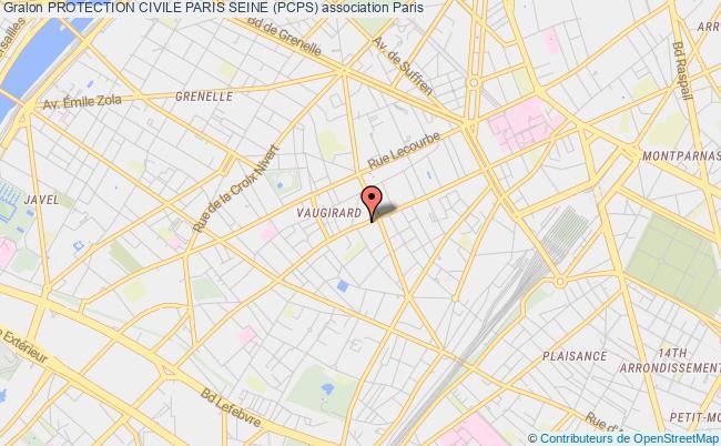plan association Protection Civile Paris Seine (pcps) Paris