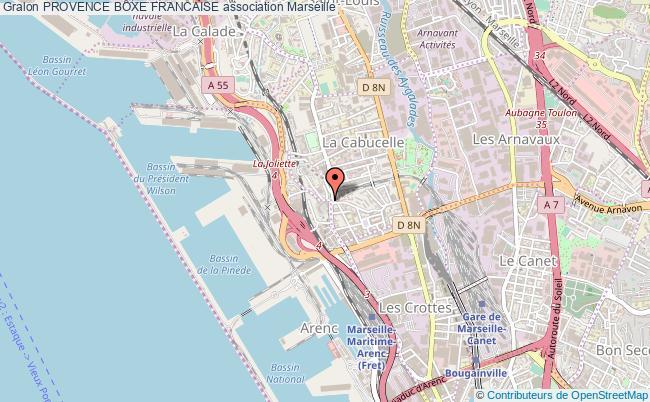 plan association Provence Boxe Francaise
