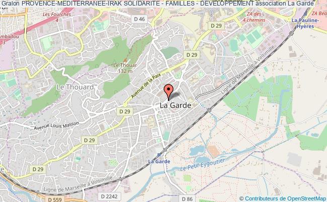 plan association Provence-mediterranee-irak Solidarite - Familles - Developpement
