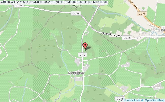 plan association Q.e.2.m Qui Signifie Quad Entre 2 Mers Montignac