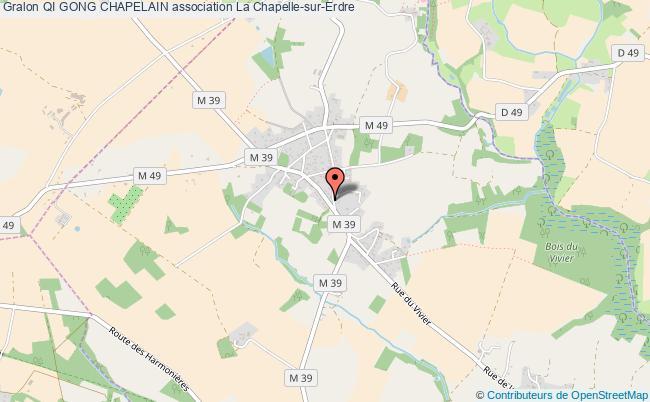 plan association Qi Gong Chapelain La Chapelle-sur-Erdre