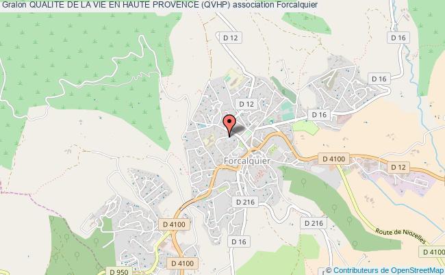 plan association Qualite De La Vie En Haute Provence (qvhp)