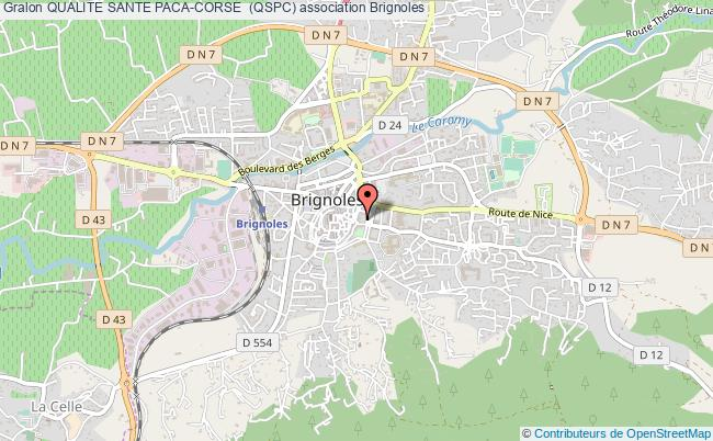 plan association Qualite Sante Paca-corse  (qspc) Brignoles