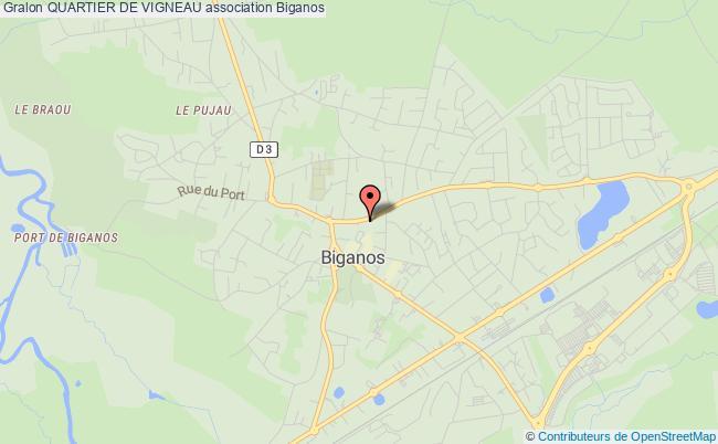 plan association Quartier De Vigneau Biganos