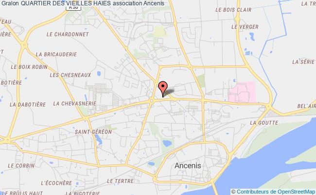 plan association Quartier Des Vieilles Haies