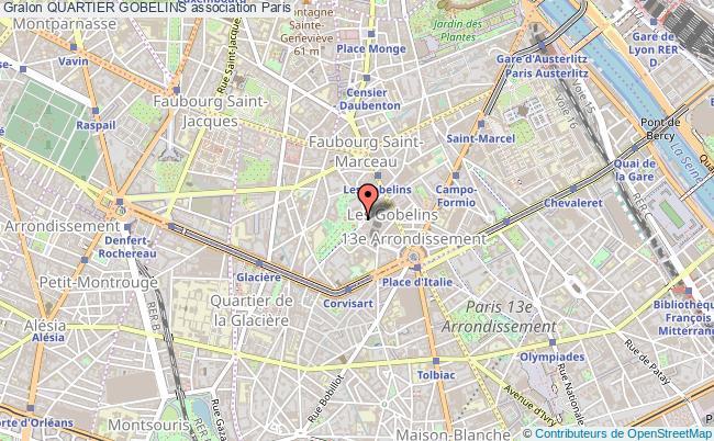 plan association Quartier Gobelins