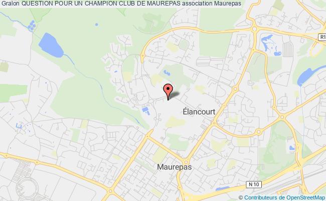 plan association Question Pour Un Champion Club De Maurepas Maurepas