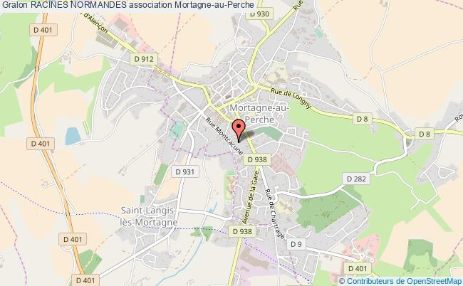 plan association Racines Normandes
