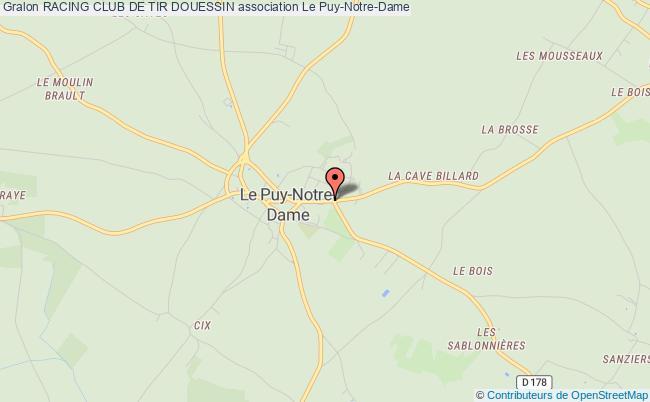 plan association Racing Club De Tir Douessin Le Puy-Notre-Dame
