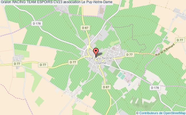 plan association Racing Team Espoirs Cv23 Le Puy-Notre-Dame