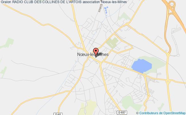 plan association Radio Club Des Collines De L'artois