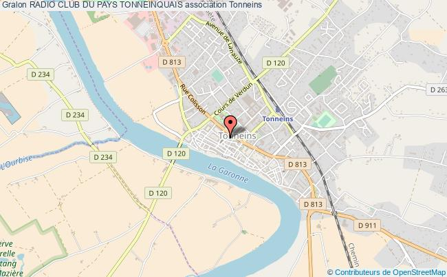 plan association Radio Club Du Pays Tonneinquais