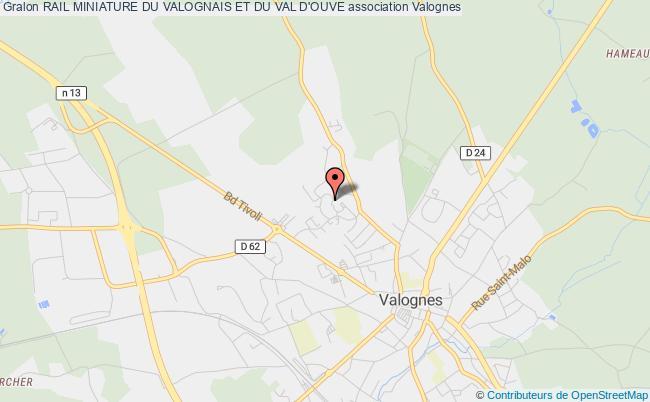 plan association Rail Miniature Du Valognais Et Du Val D'ouve Valognes