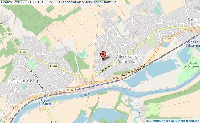 plan association Rails-eclisses Et Voies Villers-sous-Saint-Leu
