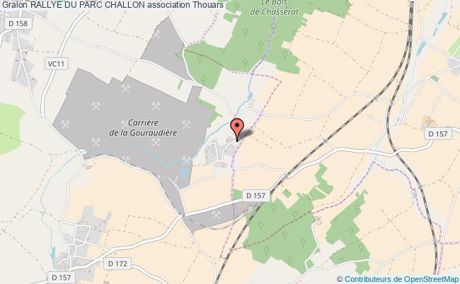 plan association Rallye Du Parc Challon