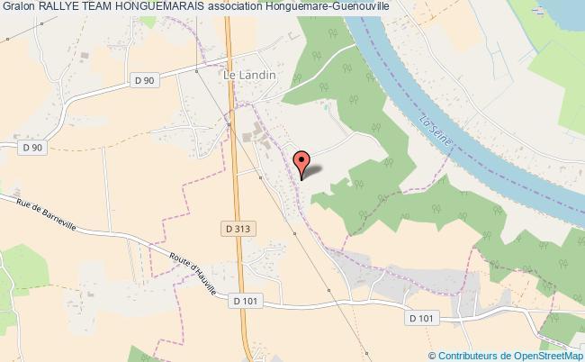 plan association Rallye Team Honguemarais Honguemare-Guenouville