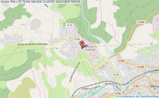 plan association Rallye Team Mende-lozere