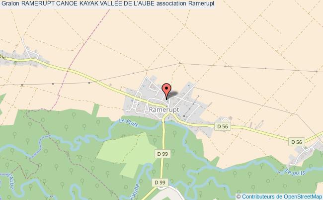 plan association Ramerupt Canoe Kayak Vallee De L'aube
