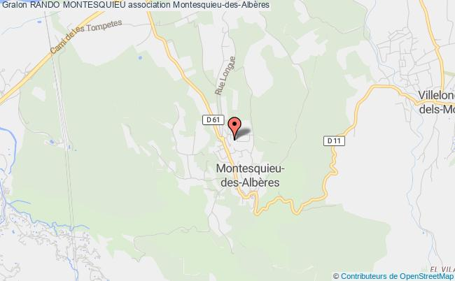 plan association Rando Montesquieu