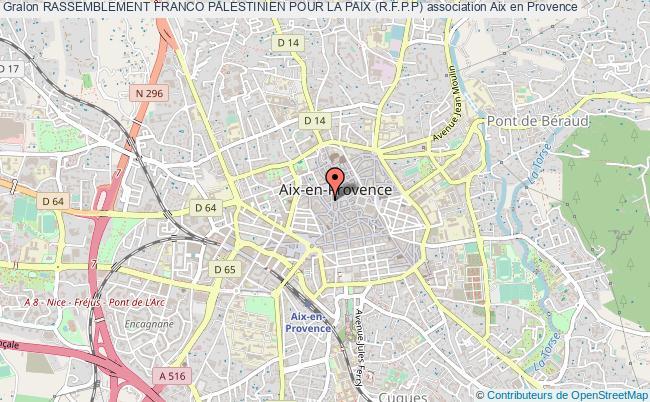 plan association Rassemblement Franco Palestinien Pour La Paix (r.f.p.p)