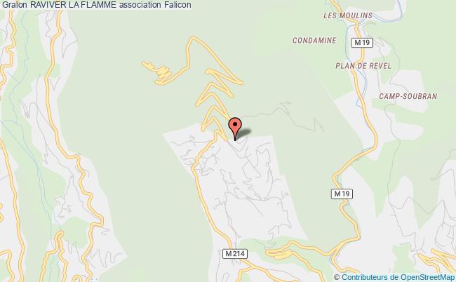 plan association Raviver La Flamme Falicon