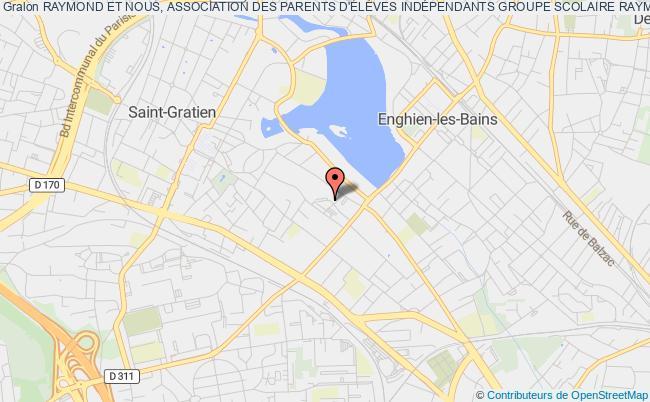 plan association Raymond Et Nous, Association Des Parents D'ÉlÈves IndÉpendants Groupe Scolaire Raymond Logeais