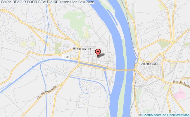 plan association Reagir Pour Beaucaire