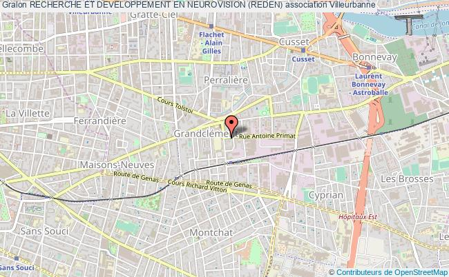 plan association Recherche Et Developpement En Neurovision (reden)