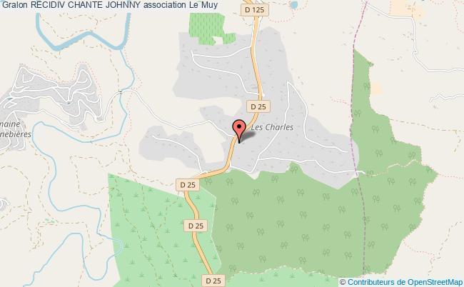 plan association Recidiv Chante Johnny Le    Muy