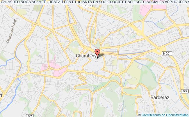 plan association Red Socs Ssamee (reseau Des Etudiants En Sociologie Et Sciences Sociales Appliquees Aux Metiers Des Etudes Et De L'enquete)