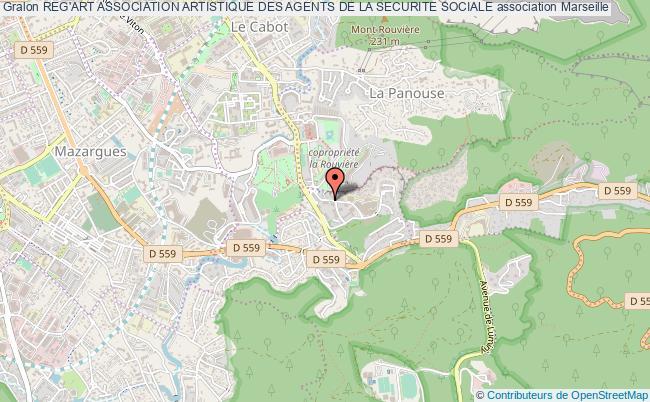 plan association Reg'art Association Artistique Des Agents De La Securite Sociale