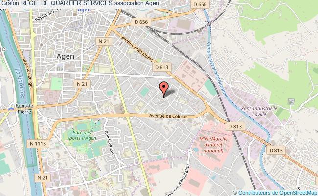 plan association Regie De Quartier Services