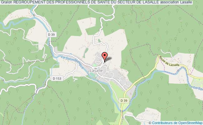 plan association Regroupement Des Professionnels De Sante Du Secteur De Lasalle