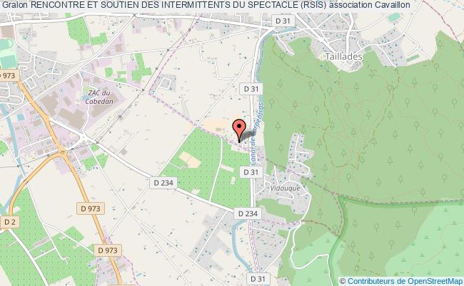 plan association Rencontre Et Soutien Des Intermittents Du Spectacle (rsis)