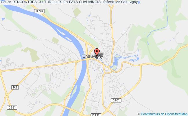 plan association Rencontres Culturelles En Pays Chauvinois.