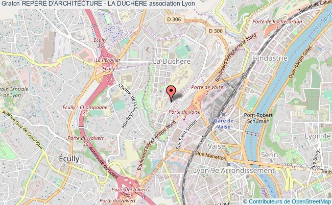 plan association RepÈre D'architecture - La DuchÈre