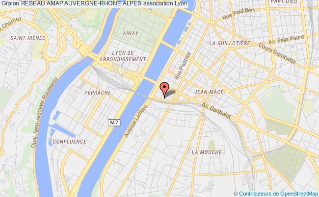 plan association Reseau Amap Auvergne-rhone Alpes